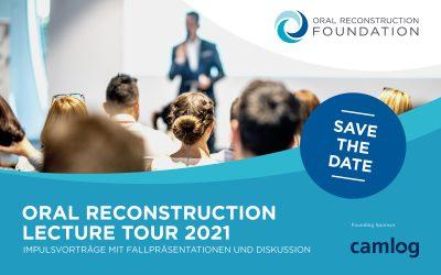 Oral Reconstruction Lecture Tour 2021